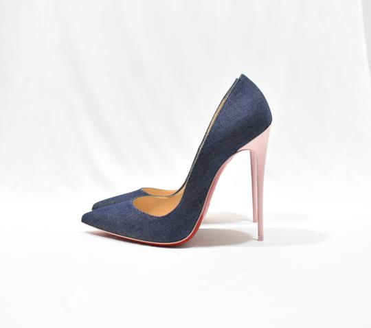 Christian Louboutin Blue Pumps Image 1
