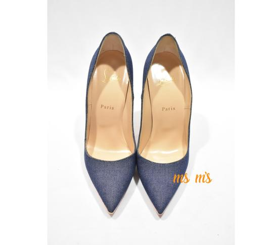 Christian Louboutin Blue Pumps Image 5