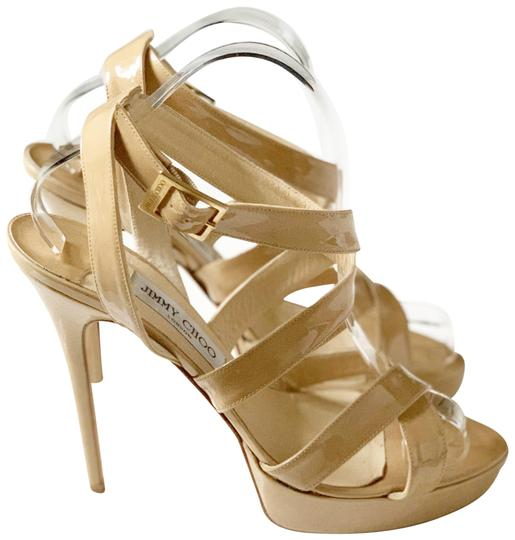 Preload https://img-static.tradesy.com/item/25283460/jimmy-choo-nude-vamp-crisscross-sandals-platforms-size-eu-405-approx-us-105-regular-m-b-0-1-540-540.jpg