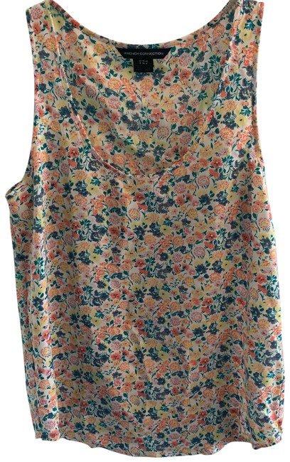 Preload https://img-static.tradesy.com/item/25283573/french-connection-floral-tank-topcami-size-4-s-0-1-650-650.jpg