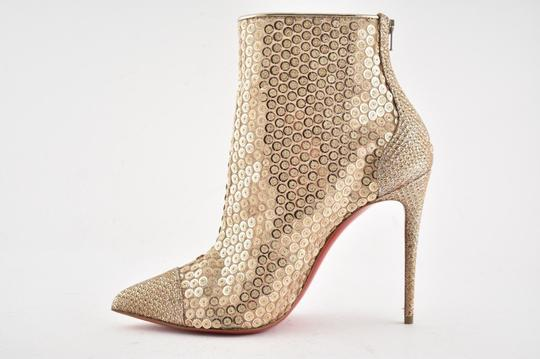 Christian Louboutin Stiletto Lace Gipsybootie Classic nude Boots Image 4