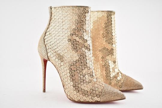 Christian Louboutin Stiletto Lace Gipsybootie Classic nude Boots Image 3