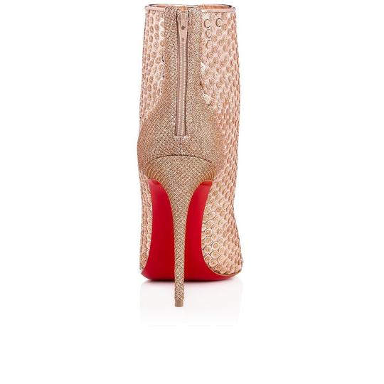 Christian Louboutin Stiletto Lace Gipsybootie Classic nude Boots Image 9
