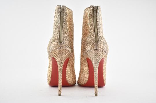 Christian Louboutin Stiletto Lace Gipsybootie Classic nude Boots Image 10
