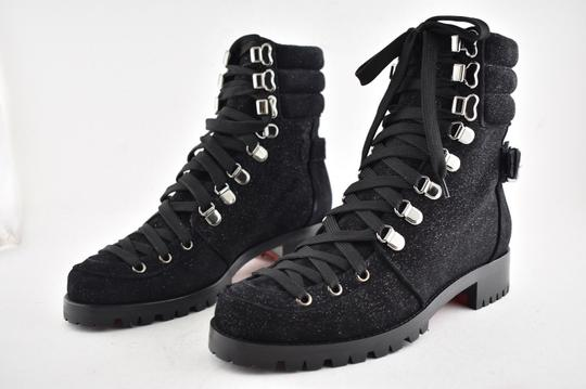 Christian Louboutin Stiletto Ankle Classic Love black Boots Image 8