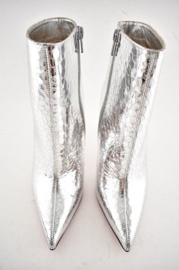 Christian Louboutin Stiletto Ankle Classic silver Boots Image 6