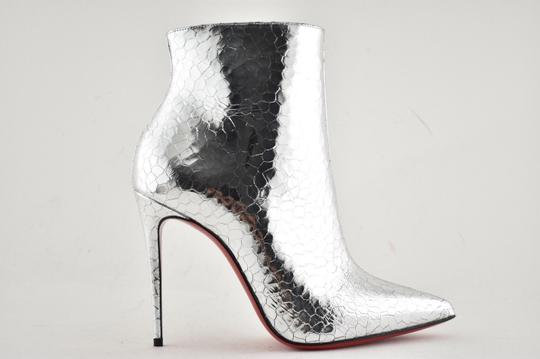 Christian Louboutin Stiletto Ankle Classic silver Boots Image 1