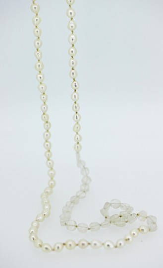 Other Single Strand Pearl with Moonstone disc beads Image 1