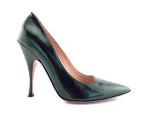 PALTER DeLISO Pointed Toe Karenelson Green Pumps