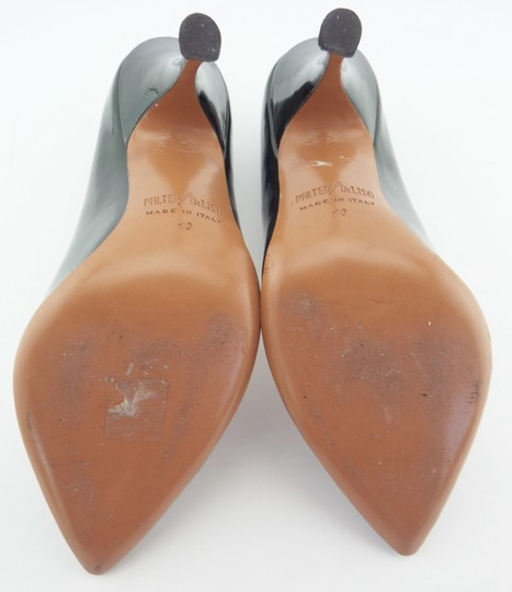 PALTER DeLISO Pointed Toe Karenelson Green Pumps Image 7