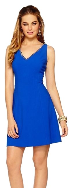 Preload https://img-static.tradesy.com/item/25283922/lilly-pulitzer-blue-monica-short-cocktail-dress-size-6-s-0-2-650-650.jpg