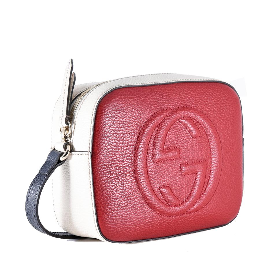 777a5b130fb9 Gucci Soho Disco Red Leather Cross Body Bag - Tradesy