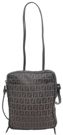 Preload https://img-static.tradesy.com/item/25284233/fendi-shoulder-purse-black-and-brown-zucchino-or-small-f-logo-print-canvas-and-black-leather-cross-b-0-1-540-540.jpg