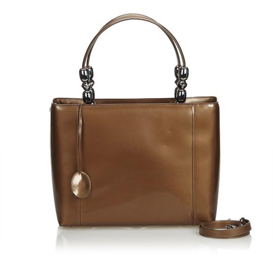 Preload https://img-static.tradesy.com/item/25284399/dior-malice-france-brown-patent-leather-patent-leather-satchel-0-0-540-540.jpg