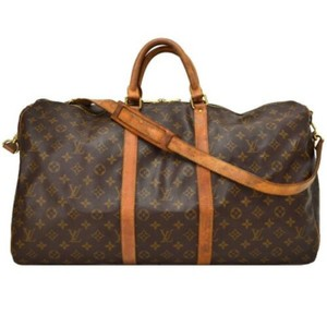 7a96b0c1d6ce Louis Vuitton Brown Monogram Travel Bag