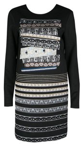 Kenzo short dress Black Polyester on Tradesy
