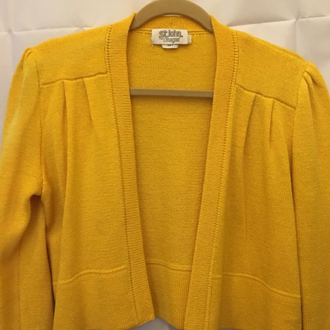 St. John Open Front Cropped Size 4 S Small Cardigan Image 1
