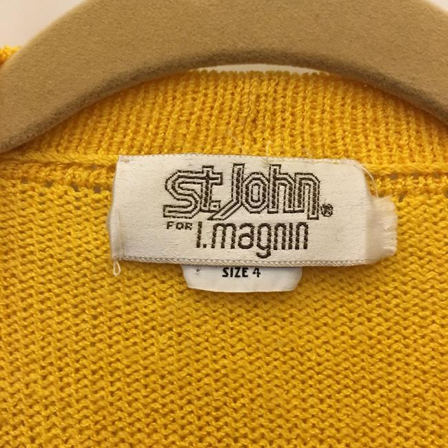 St. John Open Front Cropped Size 4 S Small Cardigan Image 2