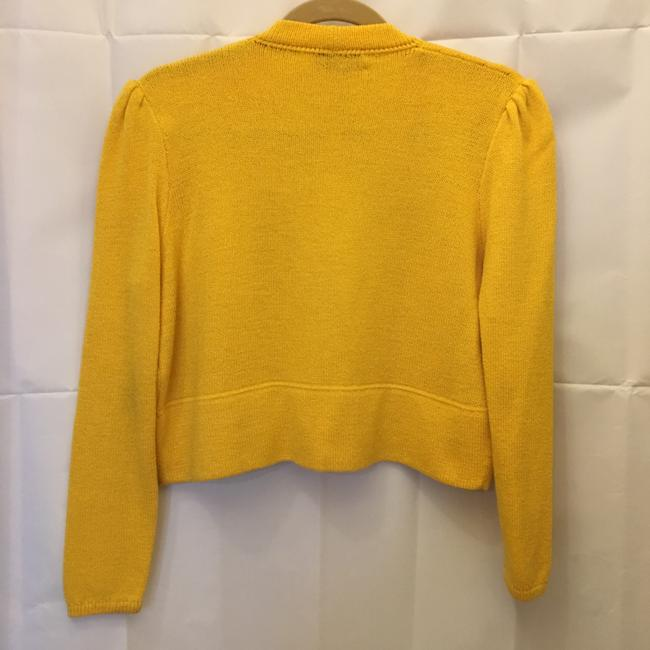 St. John Open Front Cropped Size 4 S Small Cardigan Image 4
