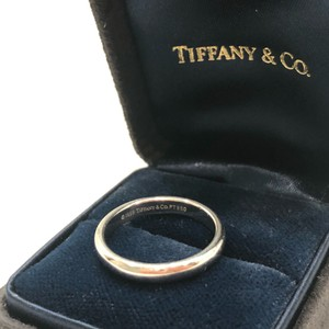 Tiffany & Co. Platinum Classic Ring Women's Wedding Band
