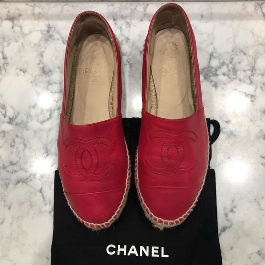 Chanel Red Athletic Image 2