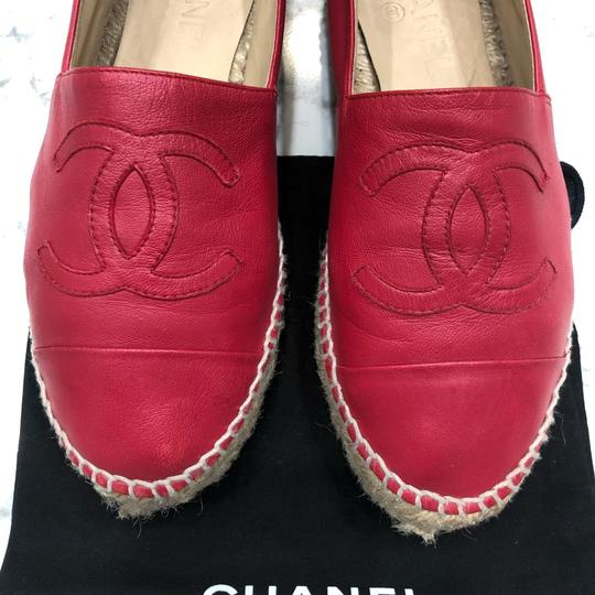 Chanel Red Athletic Image 6