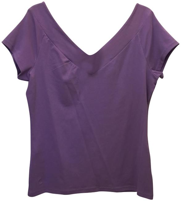 Preload https://img-static.tradesy.com/item/25284750/lauren-ralph-lauren-purple-tee-shirt-size-16-xl-plus-0x-0-1-650-650.jpg