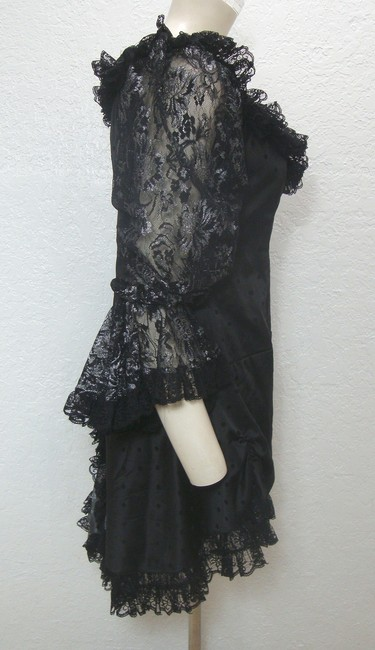 Foreplay Hollywood short dress Black Goth Costume Masquerade on Tradesy Image 3