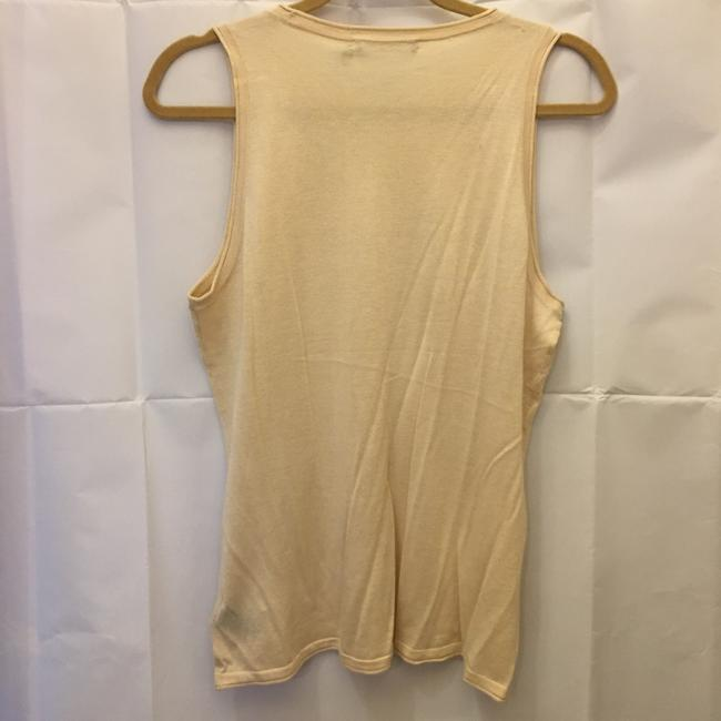 Lauren Ralph Lauren Sand Sleeveless Knit Tank New With Tags Sweater Image 6