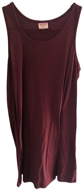 Preload https://img-static.tradesy.com/item/25284851/mossimo-supply-co-maroon-for-target-short-casual-dress-size-4-s-0-1-650-650.jpg