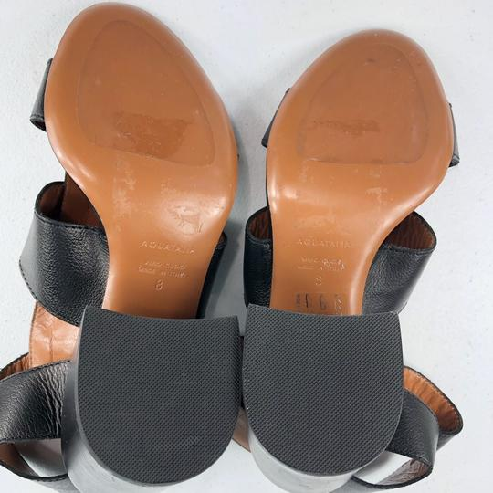Aquatalia Black Sandals Image 9