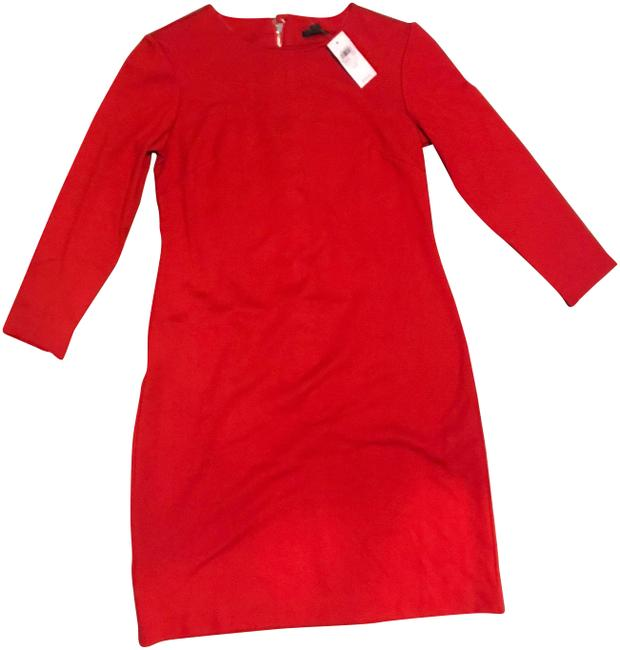 Preload https://img-static.tradesy.com/item/25285082/ann-taylor-red-266959-workoffice-dress-size-6-s-0-1-650-650.jpg