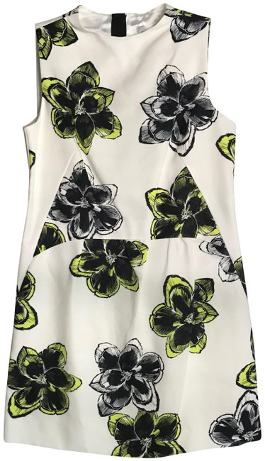 Preload https://img-static.tradesy.com/item/25285099/milly-floral-new-astrid-citron-cocktail-dress-size-8-m-0-1-650-650.jpg
