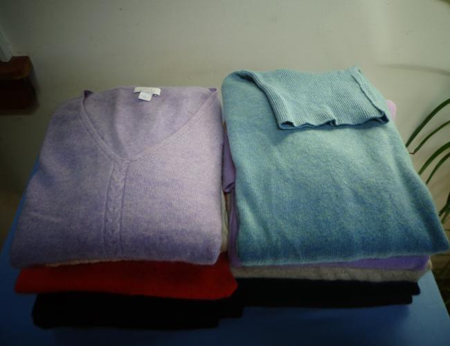 Various Recycling Cashmere Sweater Image 3