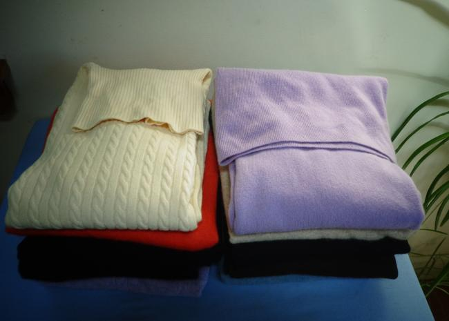 Various Recycling Cashmere Sweater Image 4