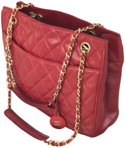 3af07f645b Red Chanel Totes - Up to 70% off at Tradesy
