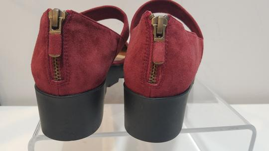Eileen Fisher red/ wine Flats Image 1