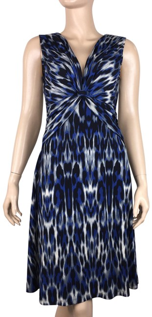 Preload https://img-static.tradesy.com/item/25285231/connected-apparel-multicolor-sleeveless-animal-print-abstract-short-casual-dress-size-6-s-0-1-650-650.jpg