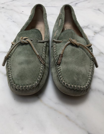 UGG Australia Driving Moccasin Suede green Flats Image 2