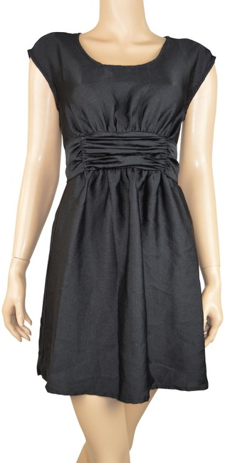 Preload https://img-static.tradesy.com/item/25285403/h-and-m-black-party-waist-tie-accent-polyester-cocktail-dress-size-6-s-0-1-650-650.jpg