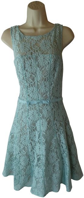 Item - Blue Short Formal Dress Size 12 (L)