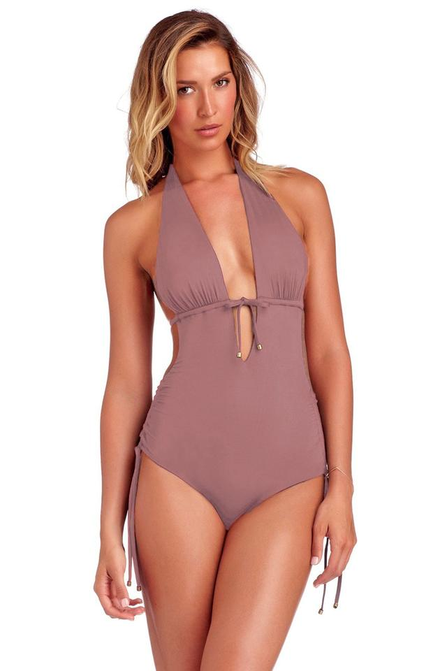 f4174c978074b Vitamin A Dusty Rose Brena Swimsuit 8/M One-piece Bathing Suit Size ...