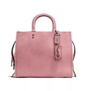 Coach Satchel in Dusty Rose