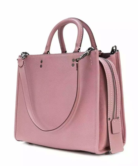 Coach Satchel in Dusty Rose Image 1