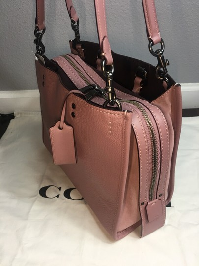 Coach Satchel in Dusty Rose Image 10
