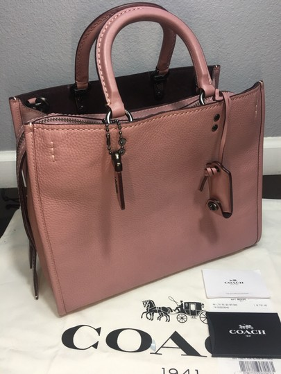Coach Satchel in Dusty Rose Image 3