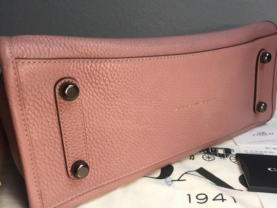 Coach Satchel in Dusty Rose Image 7