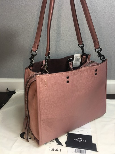 Coach Satchel in Dusty Rose Image 8