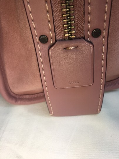 Coach Satchel in Dusty Rose Image 9