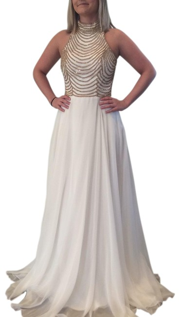 Item - White Jvn65987a Long Formal Dress Size 2 (XS)